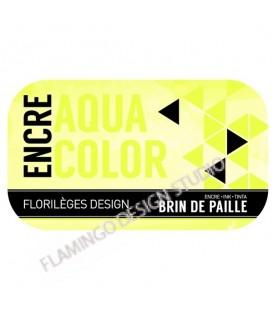 Encre Aquacolor - Brin de paille