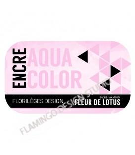 Encre Aquacolor - Fleur de Lotus