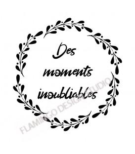 Couronne Des Moments Inoubliables