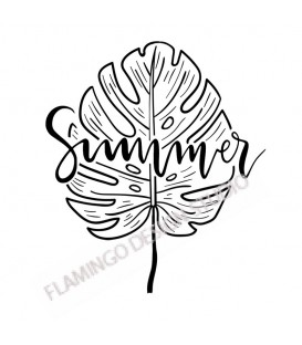 Tampon Collection Summer - Summer Feuille Tropicale