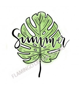 Tampon Collection Summer - Summer Feuille Tropicale ez color