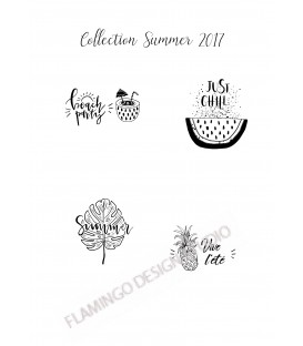 Collection Summer - 4 Tampons