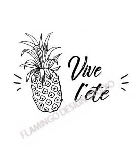 Tampon Collection Summer - Ananas Vive l'été