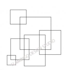 Tampon Carrés et rectangles