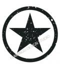 Tampon étoile dans cercle 1