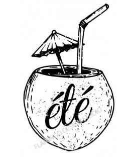 Tampon Cocktail été noix de coco