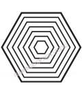 Tampon Hexagones