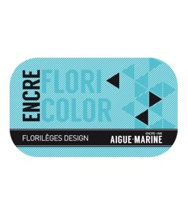 Encre Floricolor - Aigue-Marine