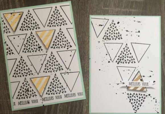 Les cartes de voeux et les tutos pour les réaliser ! #1