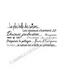 Texte Printemps - Scrapanescence - Collection 6