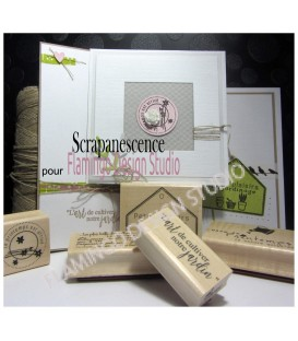 Rubber stamp - Scrapanescence - Complete collection 4