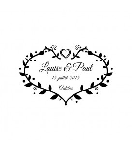 Stamp Wedding -  60 A
