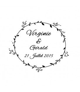 Stamp Wedding -  70 A