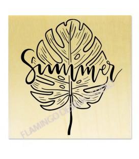 Summer Feuille Tropicale - bois