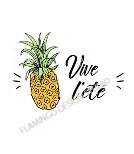 Tampon Collection Summer - Ananas Vive l'été