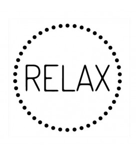 Rubber stamp - Relax