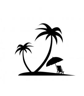Tampon Sur une île