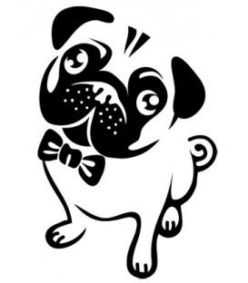 Tampon  Bulldog assis