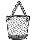 Rubber stamp - Hand bag 3