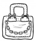 Rubber stamp - Hand bag 4