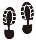 Tampon Empreintes de chaussures