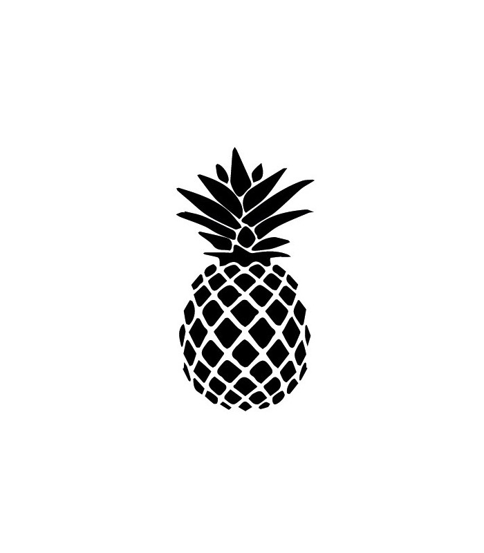 tampon gomme naturelle ananas