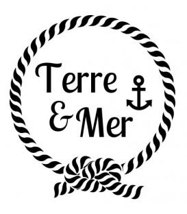 Rubber stamp - Terre et Mer