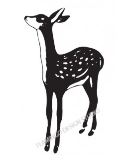 Rubber stamp - Fawn