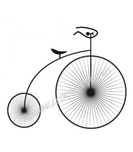 Rubber stamp - Penny Farthing