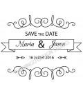 Stamp Wedding -  150 A