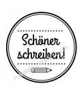 Tampon Schöner schreiben !