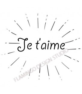 Tampon / Je t'aime/
