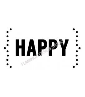 Tampon / happy
