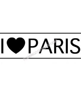 Tampon - I ♥ Paris