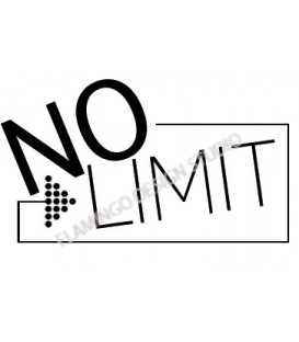 Rubber stamp - No Limit