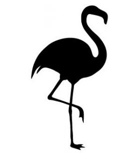 Rubber stamp - Flamingo