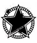 Rubber stamp - Star 2