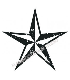 Rubber stamp - Star 3