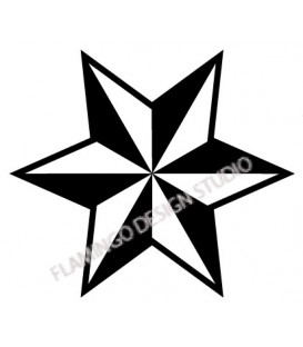 Rubber stamp - Star 4