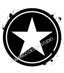 Rubber stamp - Star 5
