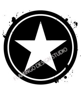 Tampon étoile 5