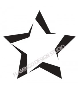 Rubber stamp - Star 7