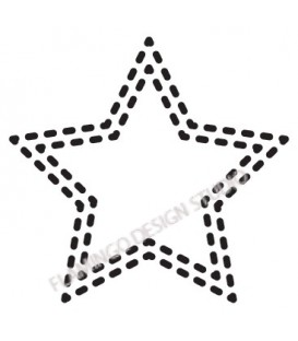 Rubber stamp - Star 9