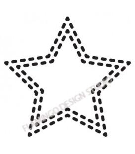 Tampon étoile 9