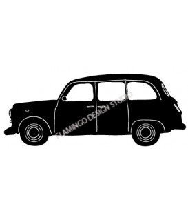 Rubber stamp - London Cab