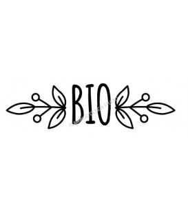 Rubber stamp - Bio