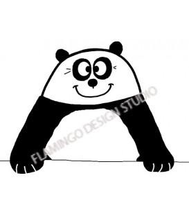 Rubber stamp - Clémence G : Panda