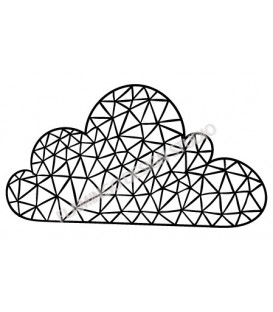 Rubber stamp - cloud 3
