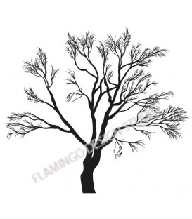 Rubber stamp - Tree 1