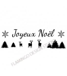 Joyeux Noël Rennes Sapins
